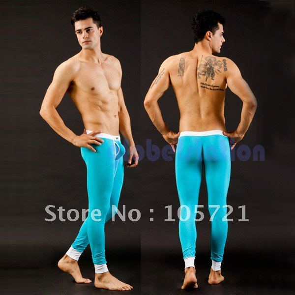 SEXY Thermal Long Johns Underwear NEW Pants Men's Fashion Underwear 5 Colors (SL00216)(China (Mainland))