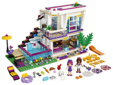 BELA Friends Series Livi's Pop Star House Building Blocks Classic Girl Kids Model Toys Minifigures Marvel Compatible Legoe - CyunSing Trading store