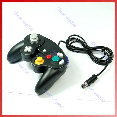 B76 Game Controller for Nintendo Gamecube GC NGC Wii Black(China (Mainland))