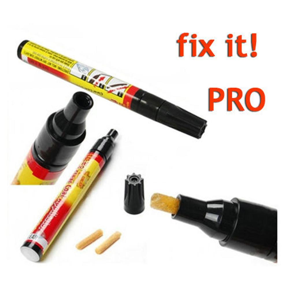 Permanent Water Resistant Works on all colors Fix It Pro Clear Car Coat Scratch Cover Remove Repair Painting Pen(China (Mainland))
