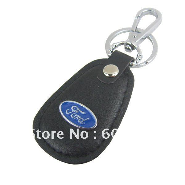 High-grade Ford Leather keychain / key chain / keyring , Accept small orders !(China (Mainland))