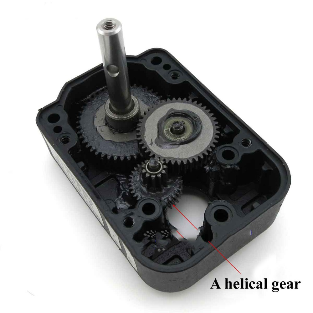Metal Gear Motor 540 545 550 Motor Gear Box DIY RC Helicopter Car Parts Accs(China (Mainland))