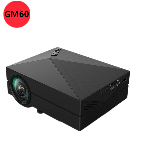 Wholesale 2015 newest portable gm60 mini led projector for for Mini outdoor projector