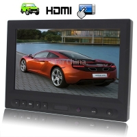 Top Quality 8 inch HD Touch Screen Car Monitor with Remote Control (HDMI, AV, VGA)(China (Mainland))