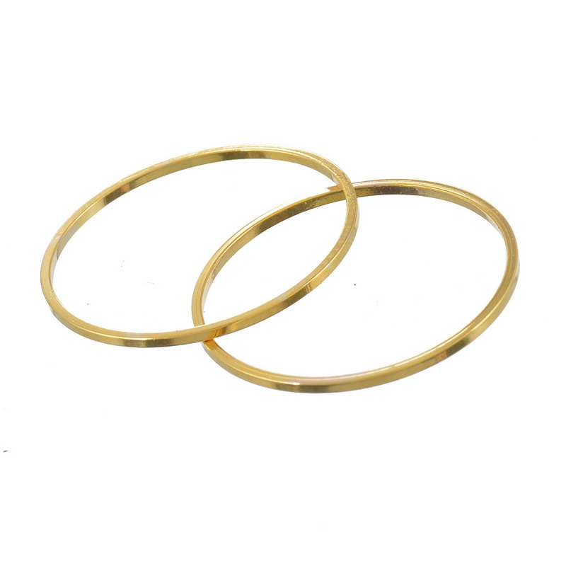 Gold Plated Jump Rings Jewelry Findings For Earring Necklace DIY 2.5cm 2*20PCs(China (Mainland))