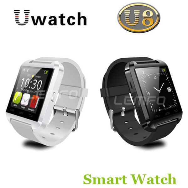 Bluetooth Smart Watch WristWatch U8 U Watch for Samsung S4/Note 2/Note 3 HTC LG Huawei Xiaomi Android Phone Smartphones 2015 Hot(China (Mainland))