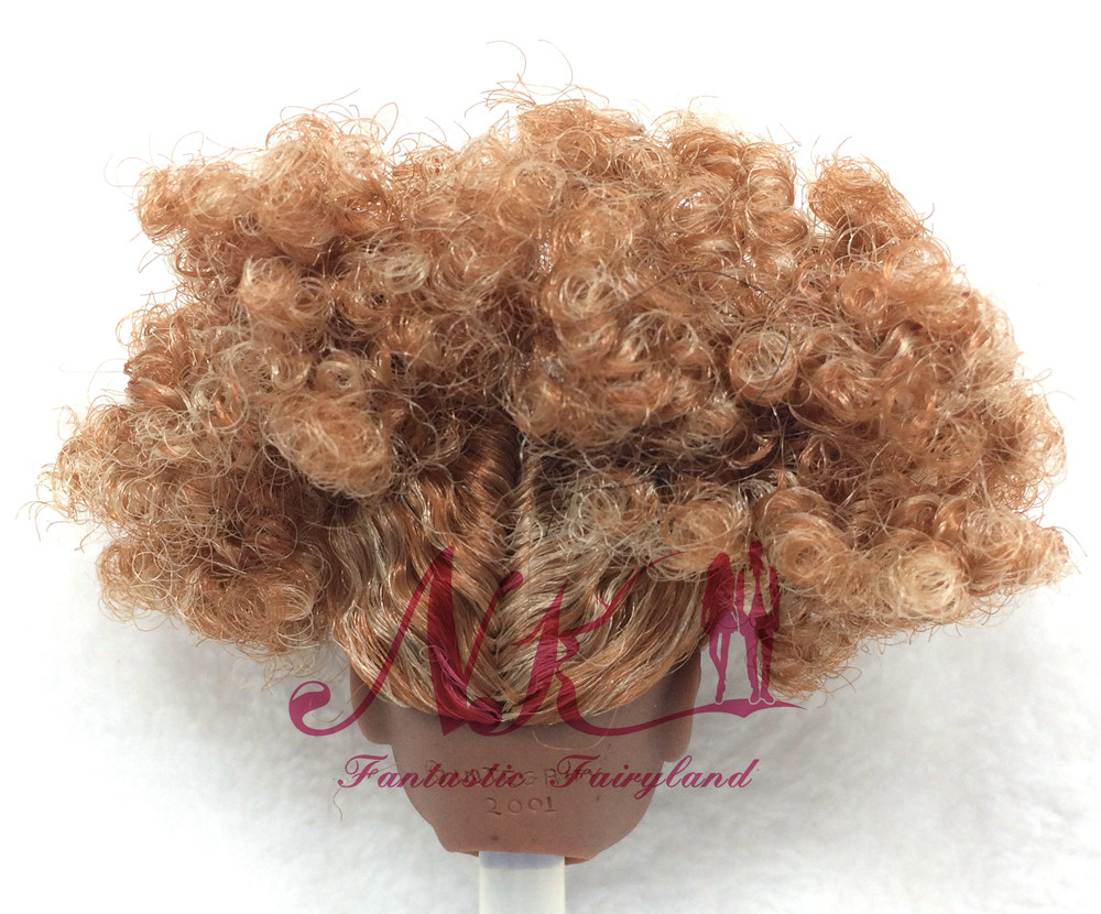 NK One Pcs Unique FR Doll Head  For FR Dolls 2002 Restricted Version Assortment  Curly Hair Finest DIY Reward For Ladies'  Doll 004D