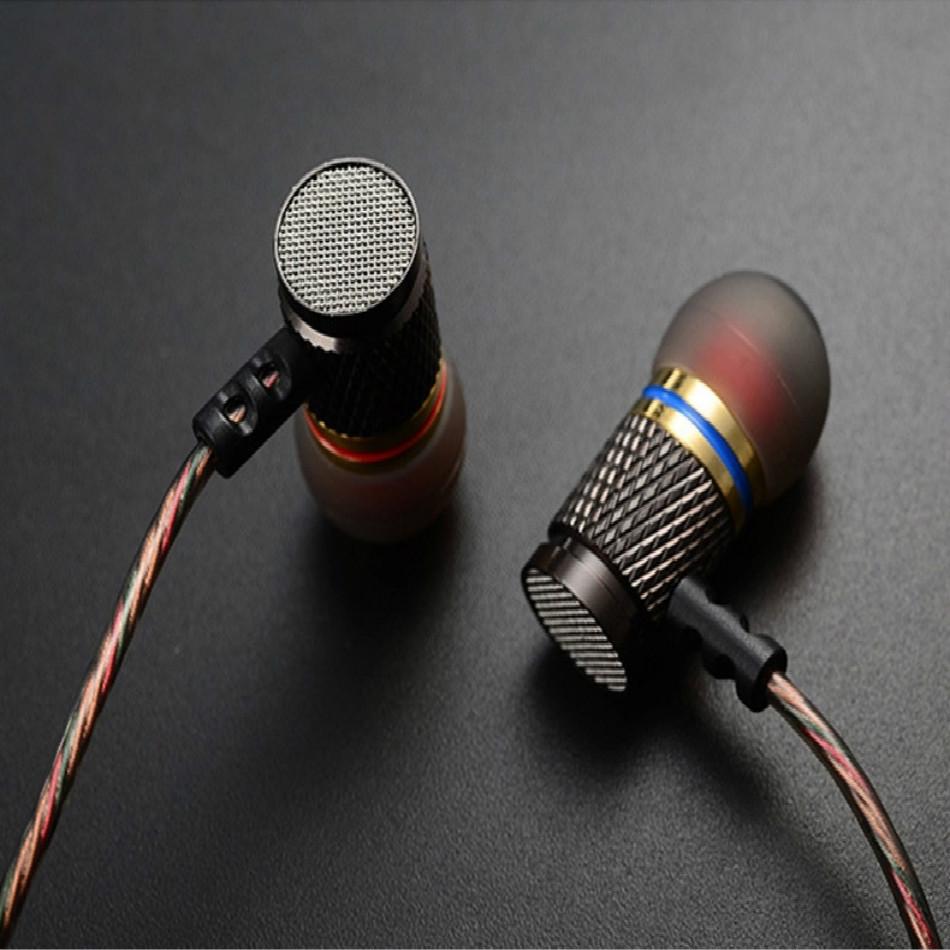 TTLIFE Metal Earphone Sport Headset Stereo Bass Headphone Microphone Earbud Noise Canceling for earphone Headphone Free shiping