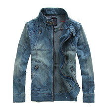 Men Jeans Jacket 2015 New Arrival Spring New Fashion Male Denim Jacket Casual Men's Outwear Sportwear JK009(China (Mainland))
