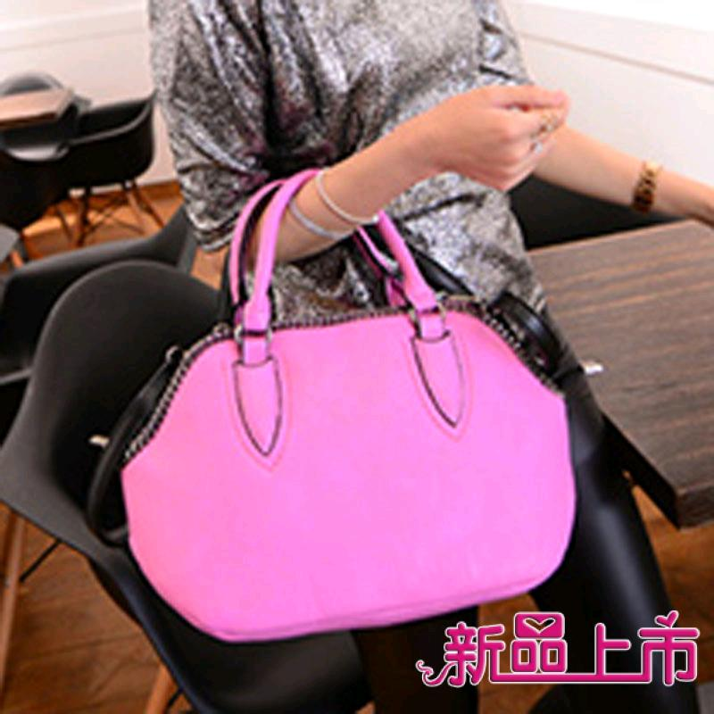 2015 handbags women's lady ladies fashion handbag messenger pink brief famous brands pu lether bags - fashional accessories store