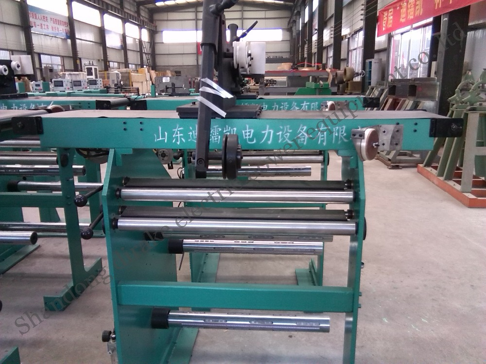 HV automatic cabling coil winding machine for electric transformer(China (Mainland))