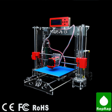 Desktop Reprap Prusa I3 3D Printer DIY KIT With LCD Screen Exclusive Injection Molded High Accuracy and 2 KG Filament as Gift