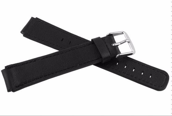 Водонепроницаемый футляр из натуральной кожи ремешок для спортивный стиль 18 * 15 мм черный синий белый коричневый