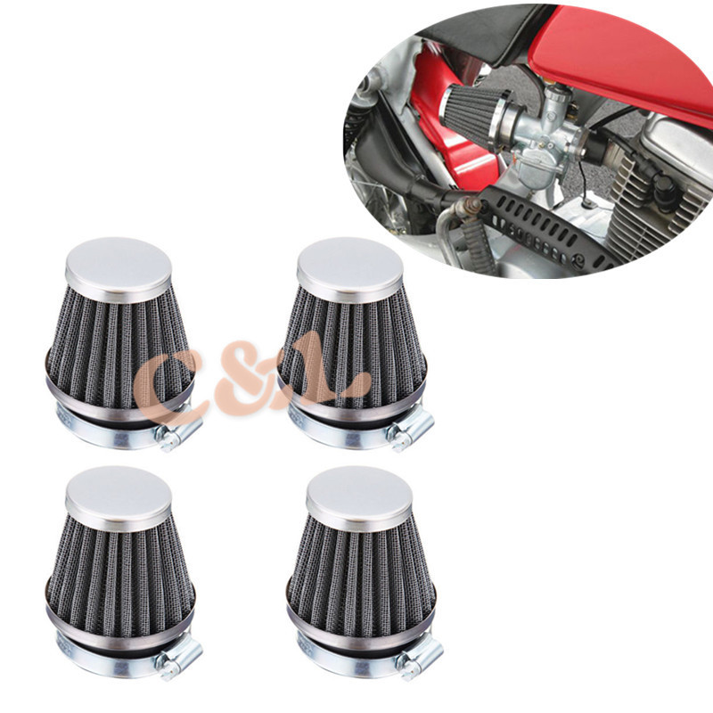 Universal 52mm Air Filter Cleaner Fits For Yamaha Aerox Breeze BWS Bump BWS next generation CR 50Z Jog Joger NEO's Vino Zest(China (Mainland))