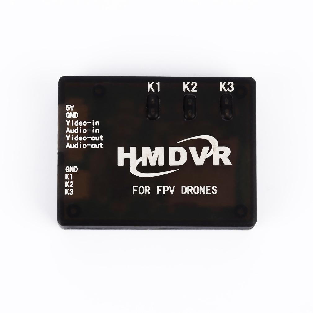 Free Shipping HMDVR FPV Mini Digital Video Audio Recorder 30fps for FPV Drones Quadcopter Q250
