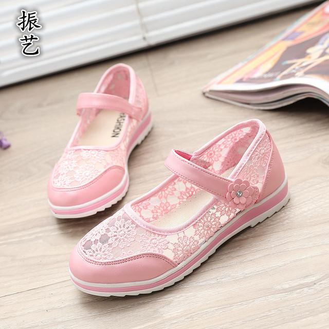 T2016 весна лето дети туфли новые женские туфли принцесса кружева вышитые мода для девочек детей сандалии