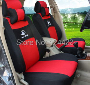 universal Seat Cover Great wall hover h3 h5 h6 m4 wingle Full seat covers car styling New Unique sets +logo+2 piece gift - China TOP trading Limited Ltd store