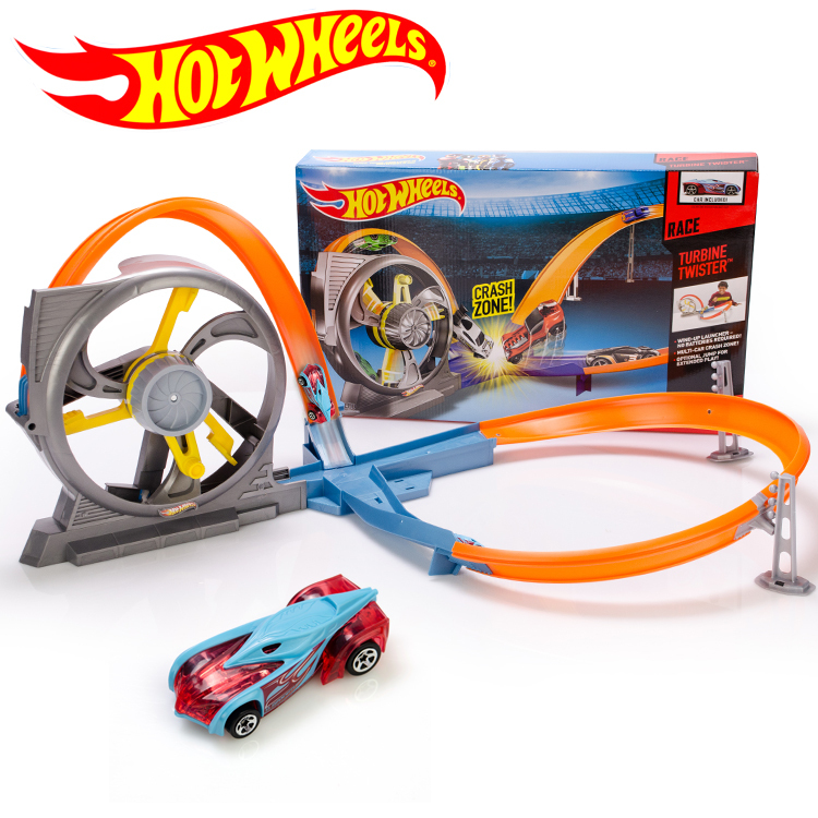 Hotwheels Roundabout track Toy Kids Cars Toys Plastic Metal Mini Hotwheels Cars Machines For Kids Educational Car Toy X9285(China (Mainland))