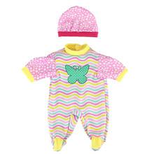 Кукольный наряд для новорожденных, подходит для 18 дюймов, 43 см, Одежда для кукол или Хрустальная обувь для девочек, подарки для маленьких дев...(China)