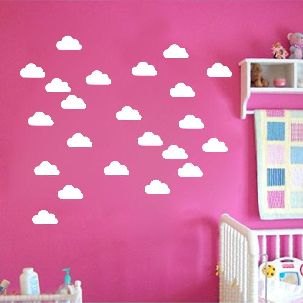 Clouds decorations promotion achetez des clouds for Bricolage chambre bebe