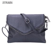 Cheap Women Envelope Bag Pu leather Handbag shoulder bags Ladies Crossbody Sling Messenger Bag Purses Blue Black Brown 7 colors(China (Mainland))