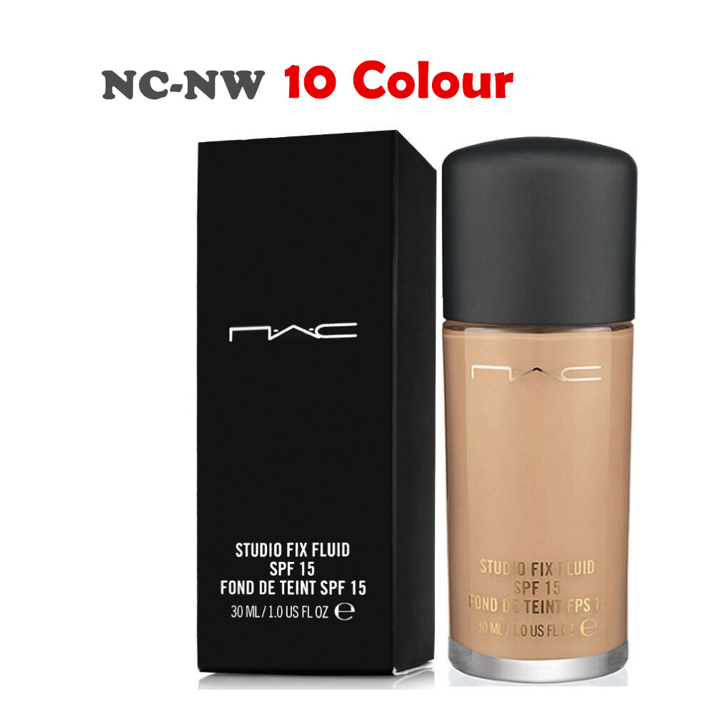 Professional Brand Makeup Face Foundation Liquid 30ML Studio fix fluid SPF 15 Base Concealer NC-NW Free Shipping(China (Mainland))