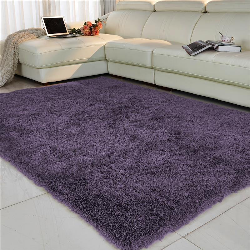 Free Shipping Anti Slip 80 160cm 4 5cm Thick Large Floor Carpets For Living Room Modern Area Rug For Bedroom Shaggy Rug