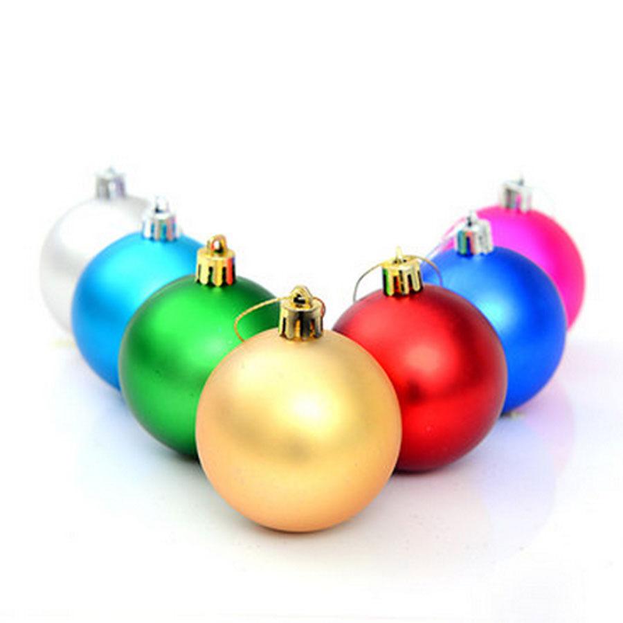 Large plastic christmas balls pcs lot for