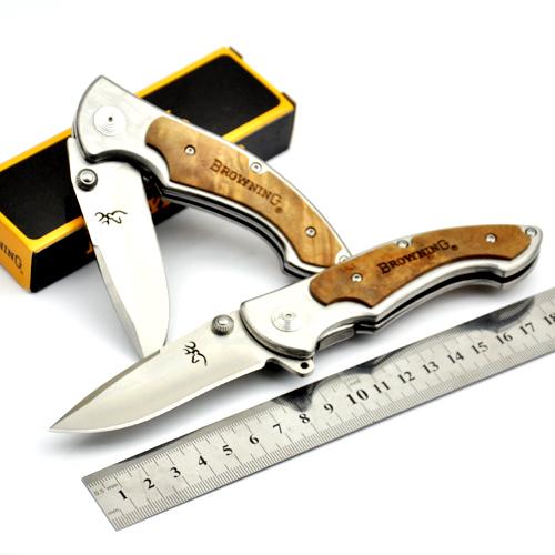 Browning 337 big 440C Steel Folding Knife Survival Hunting Knife Pocket Knives 2color