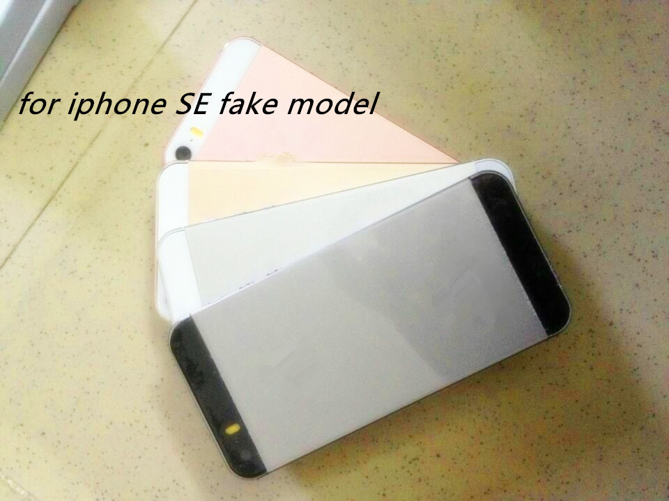 Wholesale Non Working Dummy Display Phone cell phones For iphone SE Fake Dummy Model mobile phone only for Exhibition New