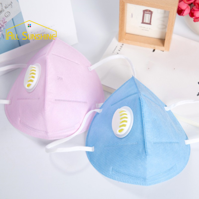 Dustproof Anti Haze Mouth Mask Breath Valve Respirator Face Mouth Masks With Elastic Ear Loop(China (Mainland))