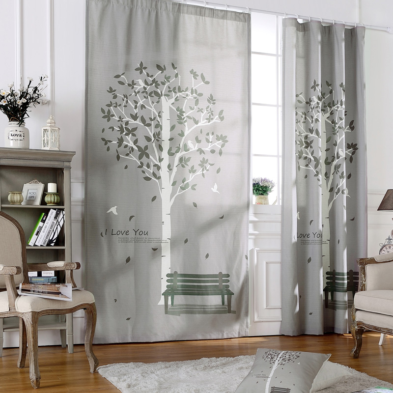 Room curtains ready made curtains living room rustic short for Rustic curtains for living room