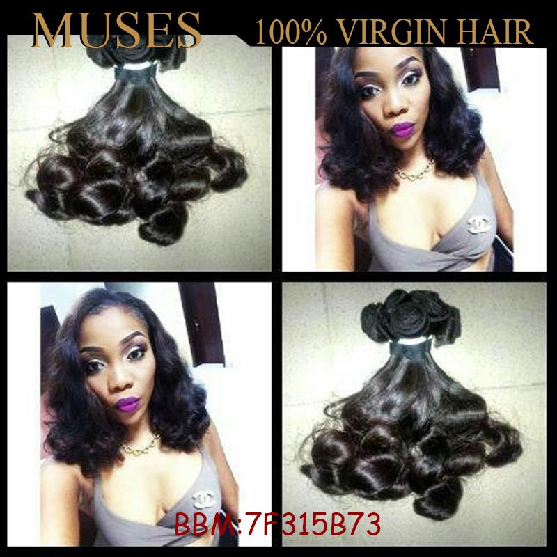 Гаджет  High Quality Cheap 6a Grade Aunty Funmi Hair Unprocessed Brazilian Virgin Hair Bouncy Curls 3pcs Lot Ups Free Shipping None Волосы и аксессуары