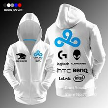 Buy CLOUD9 ibuypower casual zipper hoodies sweatshirt jacket fleece Jersey gaming series top hoody for $25.99 in AliExpress store