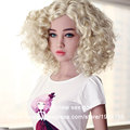 2016 new sex dolls sexy mannequins life size silicone sex doll realistic skin feeling real head