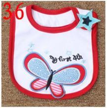 Baby Bibs Cotton Bandana Bibs Infant Babador Saliva Bavoir Towel baberos bebes Babadores Newborn Baby Girls Boys 3pcs/lot  xwd36