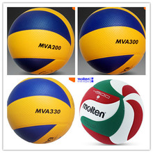 100% Original Soft Touch Volleyball Ball MVA200 MVA300 MVA330 Best Quality 8 Panels Match Volleyball voleibol  Facotry Wholesale(China (Mainland))