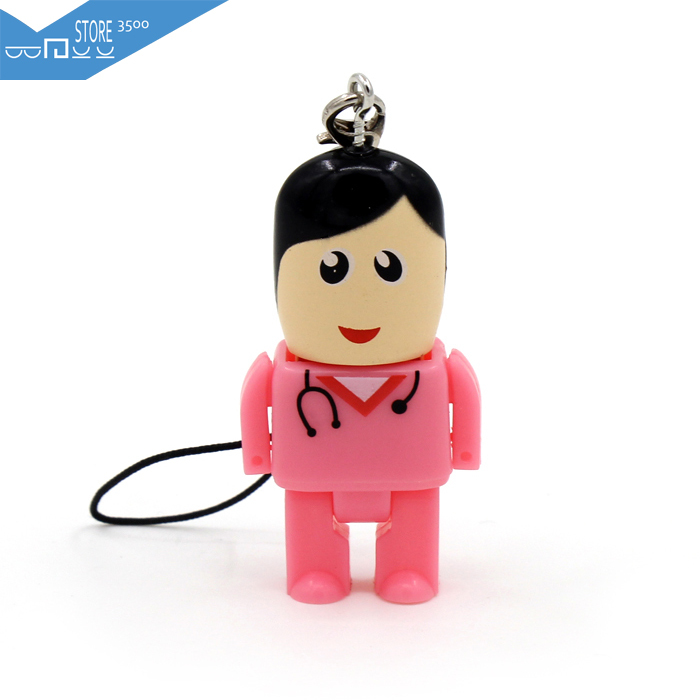 Гаджет  2015 New mini size doctor usb flash drive 8GB 16GB 32GB 64GB pendrive pen drive memory stick disk Usb 2.0 free shipping U00013 None Компьютер & сеть