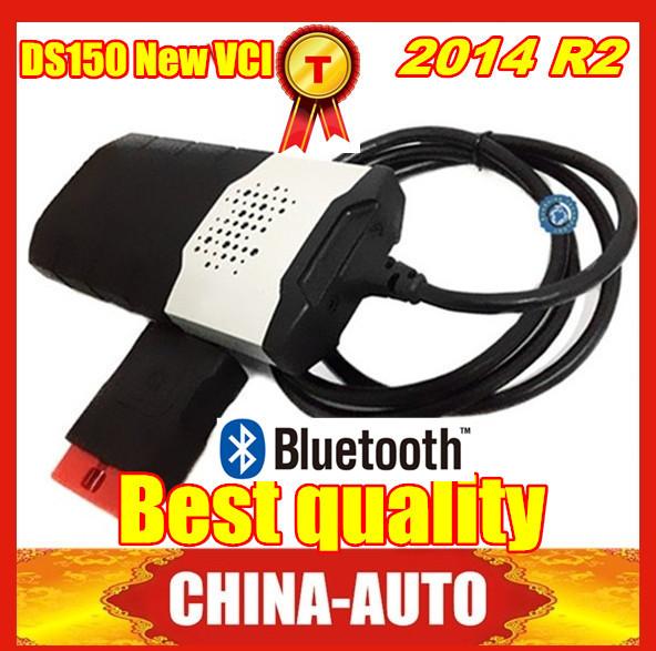 Best quality (2014 R2+Keygen) Car diagnostic tool TCS CDP Pro DS150e with Bluetooth for Autocom OBD2 Cars/Trucks diagnostic tool(China (Mainland))