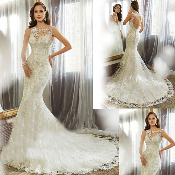 Свадебное платье Bianchengjiayi Vestido noiva 2015 Casamento Vestidos noiva Sereia ZY037 sdf свадебное платье rieshaneea 2015 vestido noiva r15010812