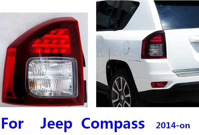 Replacement Parts for 2014 compass left right external Light combination taillight rear tail parking turning reverse