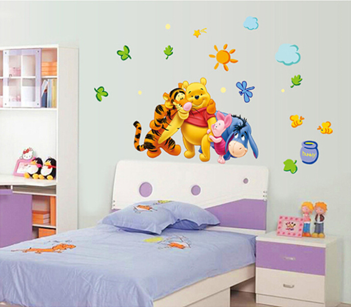 Poster adhesivos para pared de winnie pooh baby imagui - Posters para pared ...