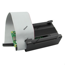 Aluminum Alloy Protective Case Cover Shell for Raspberry Pi B+ With Cooling Fan (China (Mainland))