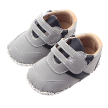 Leather Baby First Walkers Antislip First Walkers For Baby Boy Girl Genius Nubuck Leather Baby Infant Toddler Shoes 0-1 years(China (Mainland))