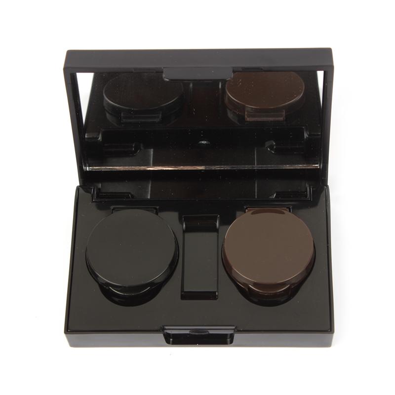 2 cores impermeável de longa duração Eyeliner Gel creme delineador preto Gel