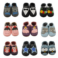 Sayoyo Fashion Cow Leather Baby Moccasins Soft Soled Baby Boy Shoes Girl Newborn Infant Crib Shoes First Walkers Free Shipping(China (Mainland))