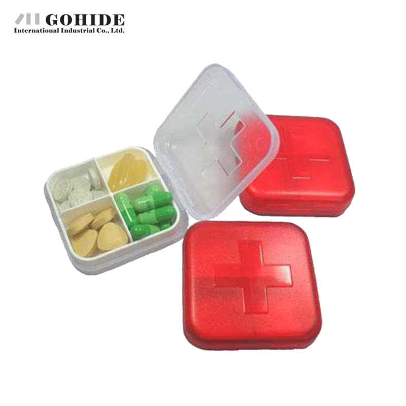 Gohide 2016 New Arrival Modern Cross Four-Frame Kit Storage Box Case Medical Kit Storage Boxes Bins Home Accessories(China (Mainland))