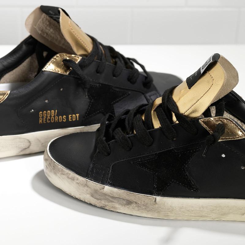 Original Italy Brand Golden Goose Casual Shoes Genuine Leather Men Women GGDB Black Shoes Scarpe Uomo Chaussure Superstar 2016
