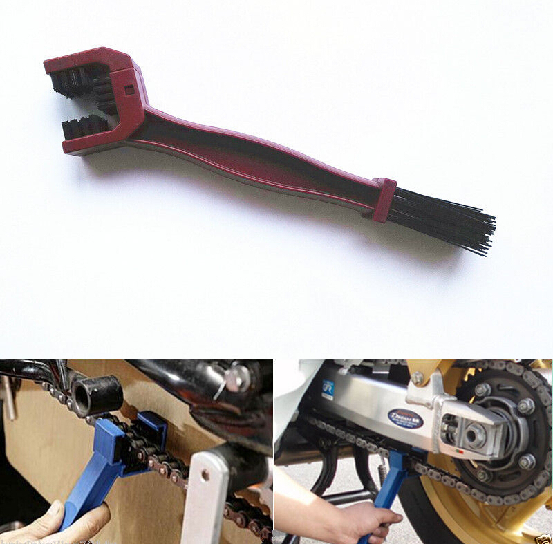 Universal Motorcycle Gear Chains Maintenance Cleaning Dirt Brush Cleaner Tool free shipping(China (Mainland))
