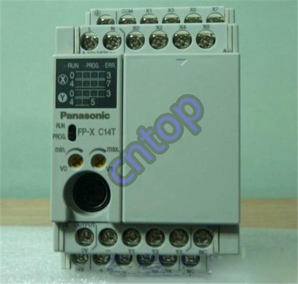 Free shipping New  AFPX-C14TD  PLC  AC100-240V 8 DC input points 6 NPN output points FP-X Control Unit<br><br>Aliexpress